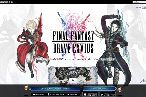FINAL FANTASY BRAVE EXVIUS Android ios SQUARE ENIX
