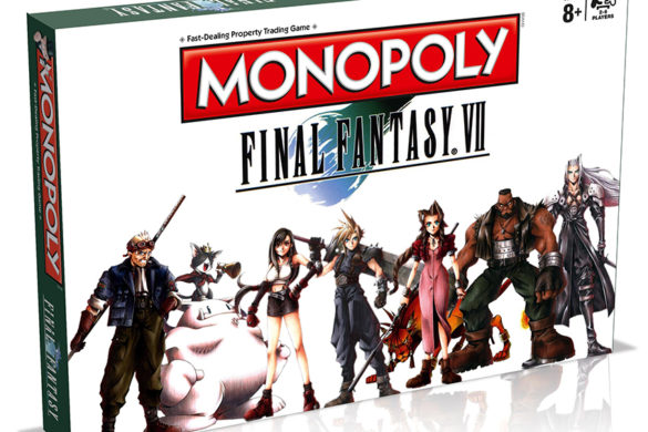 Final Fantasy 7 Monopoly game