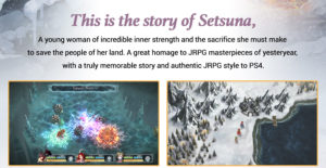 I am Setsuna for PS4 Preorder Playstation Store