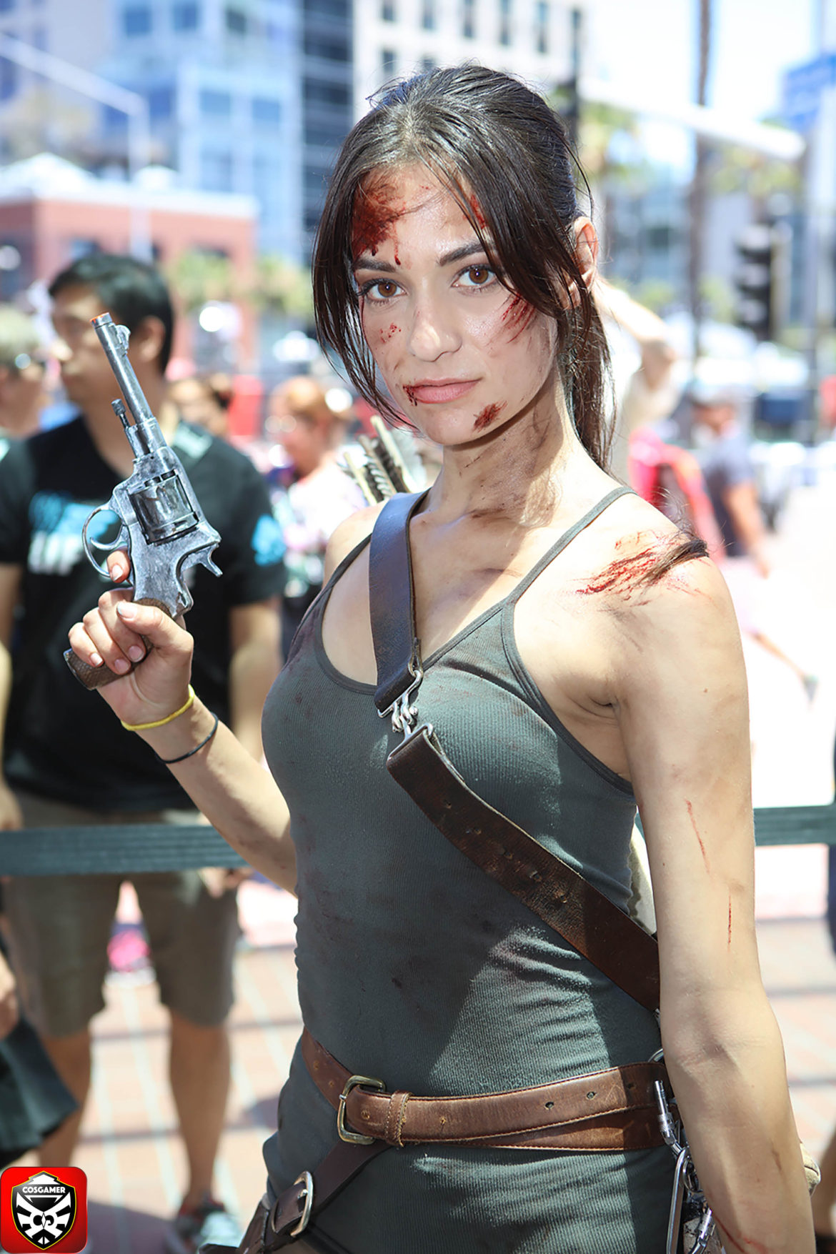 SAN DIEGO COMIC CON 2016 FRIDAY PART 2 Tomb Raider Square Enix CosGamer