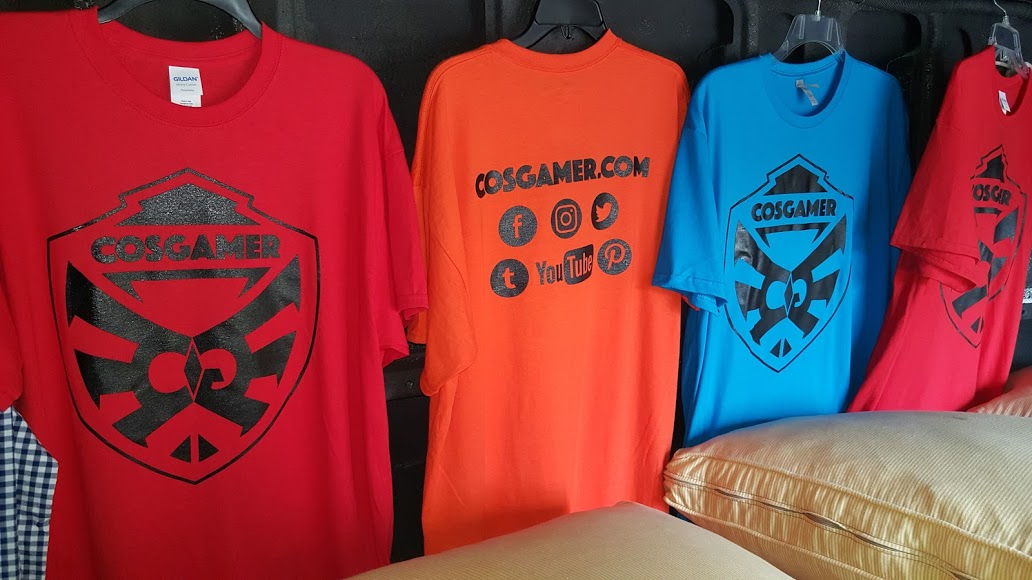 Dragoncon 2016 CosGamer Free Tshirt Give Away