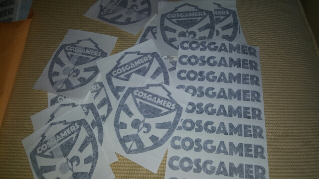 Cosgamer.com stickers
