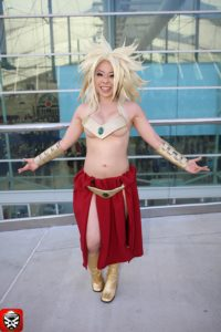 5 Broly 2 Devi_Me Cosplay CosGamer San Diego ComiCon SDCC2016