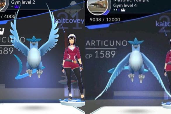 Pokemon Go Legendary Bird Articuno CosGamer
