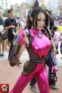 9 Storm Taki Soul Caliber Cosplay CosGamer San Diego ComiCon SDCC2016