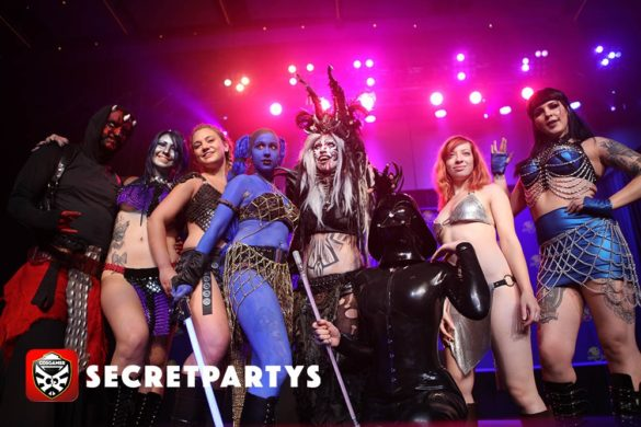DragonCon 2016 Secret Partys CosGamer Cosgamers Atlanta Georgia Cosplay Rave Party