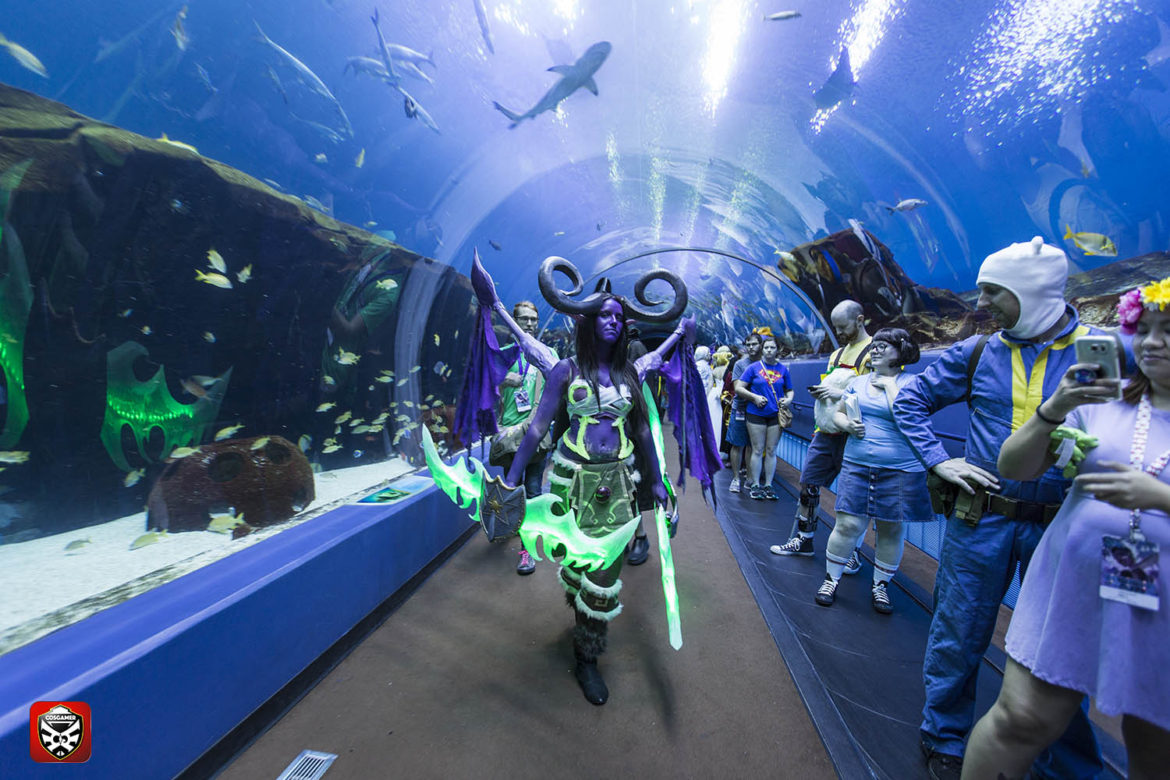 Deisel Fuel Cosplay DragonCon 2016 Deisely CosGamer CosGamers Georgia Aquarium