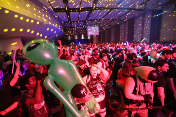 Dragoncon 2016 cosplay party 77,000 attendants