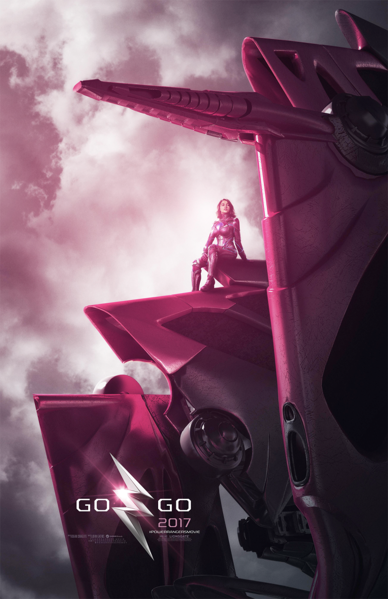 New Pink Rangers Movie Poster 2017