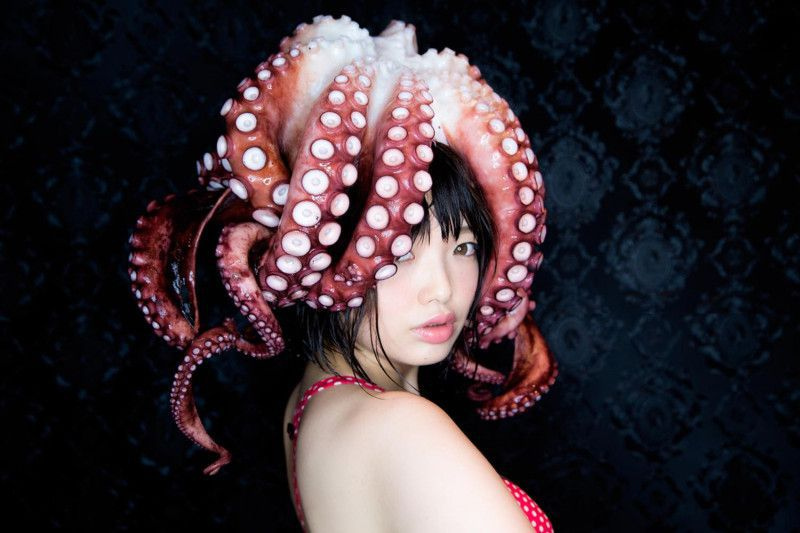 Cosplayer Namada photographer Kazan Yamamoto Octopus Cosplay Photo Japan
