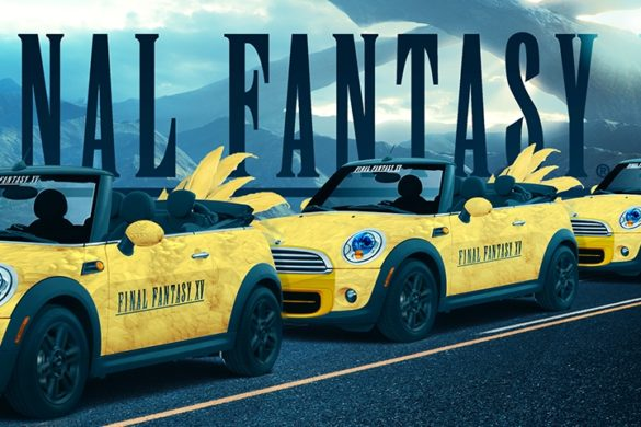 final fantasy xv uber ride