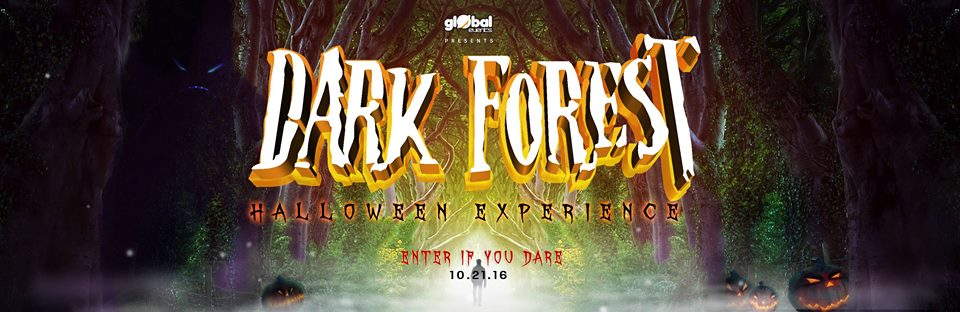 Dark Forest UV Party Halloween Experience at Karu Multiplex