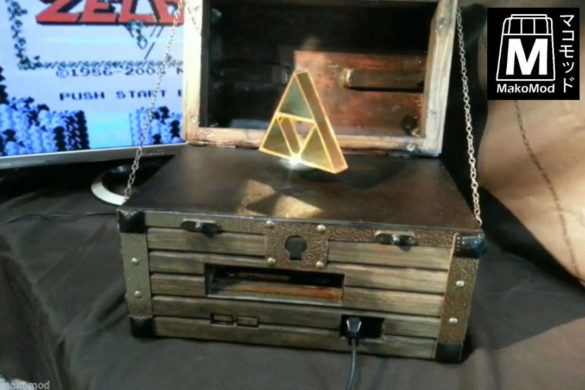 legend of zelda NES triforce chest ebay