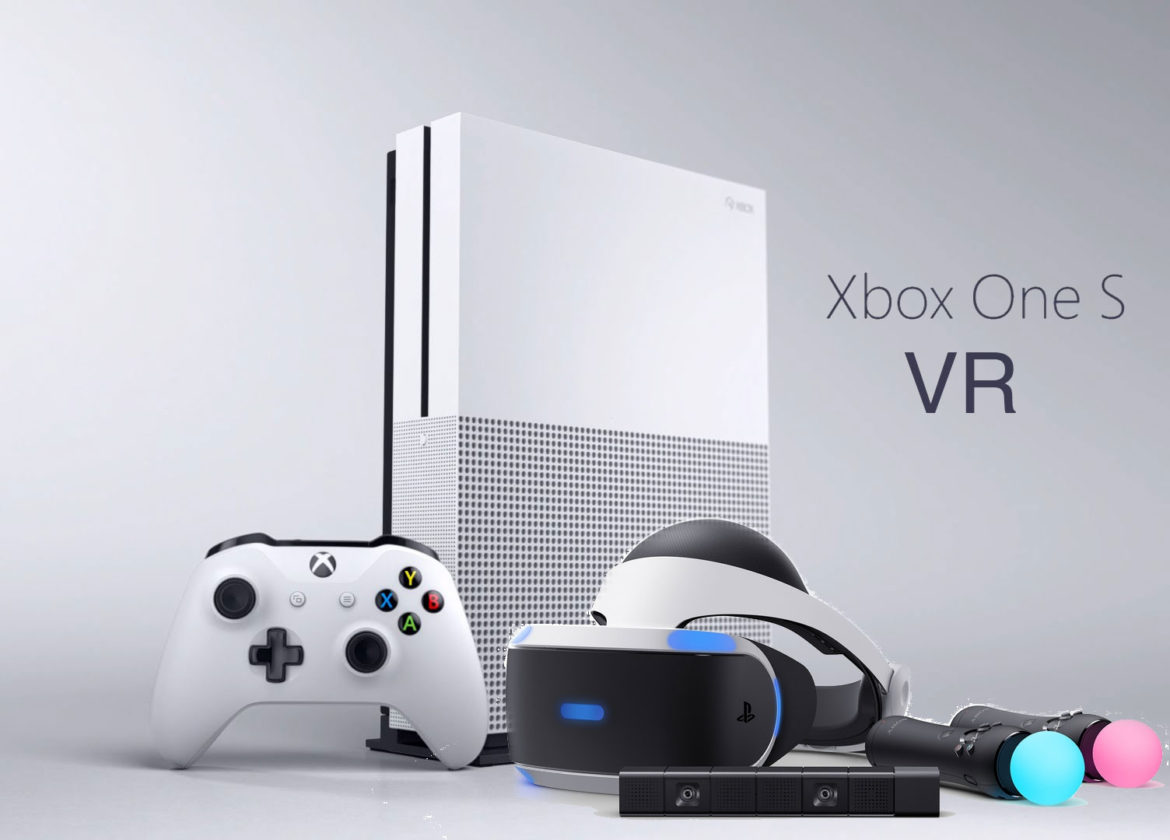 xbox-one-s-vr Xbox VR Xbox virtual Reality Playstation VR