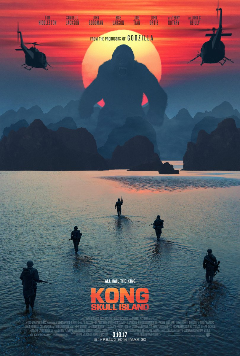Kong Skull Island Official Trailer