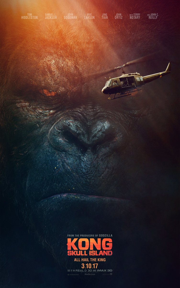 Samuel Jackson and Kong in the same movie, its going to be a cursing fuckfest!