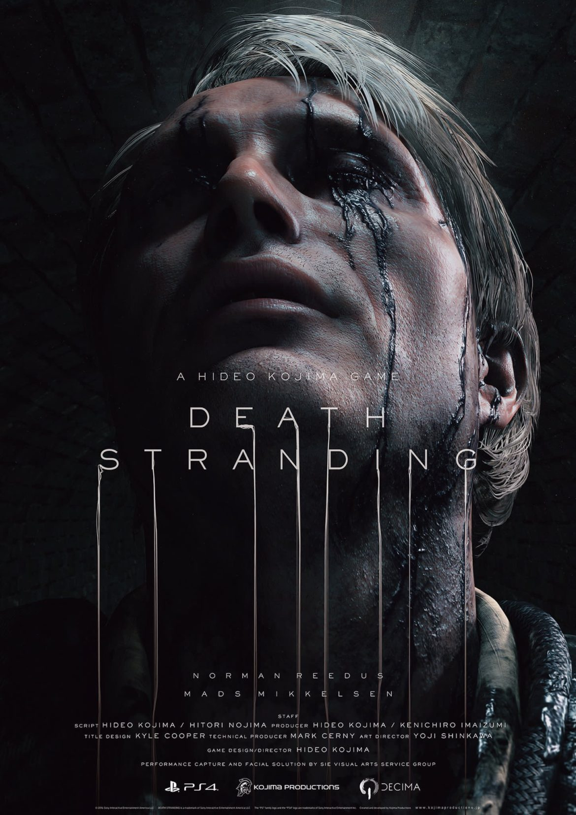 death stranding poster ps4 pro hideo kojima